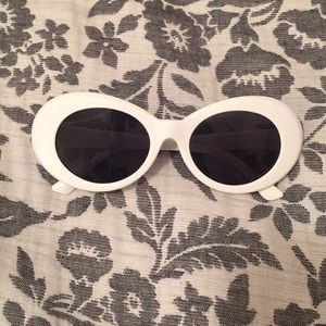 White Barbie Theme Sunglasses